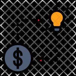 Money Change Ideas Icon