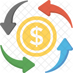 Money Circulation Icon png