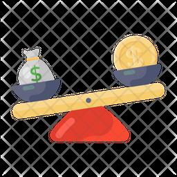 Money Comparison Icon