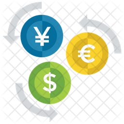 Money Converter Flat Icon