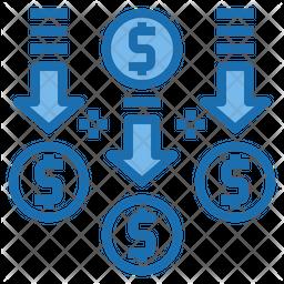 Money flow Icon