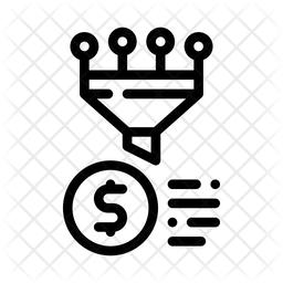Money Funnel Icon
