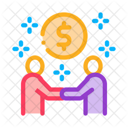 Money Making Deal Icon