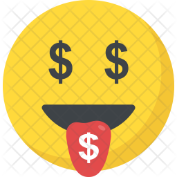 Money Mouth Face Emoji Icon