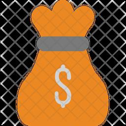 Moneybag Flat Icon