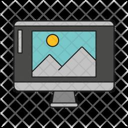 Photo Editing Software Icon