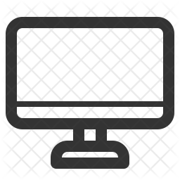 Monitor Line Icon