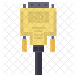 Monitor Cable Icon