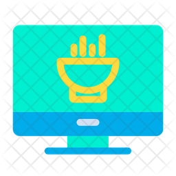 Monitor Food Icon