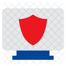 Monitor Security Icon
