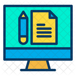 Monitor Study Note Icon