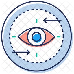 Monitoring Colored Outline Icon