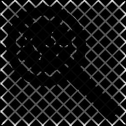 Monitoring Glyph Icon