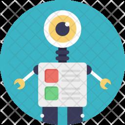 Monitoring Robot Icon