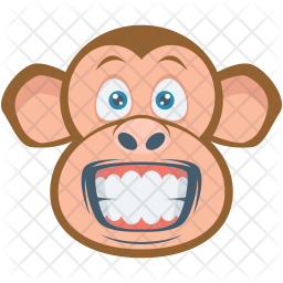 Monkey Flat Icon