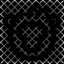 Monkey Line Icon