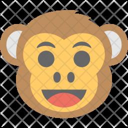 Monkey Emoji Icon