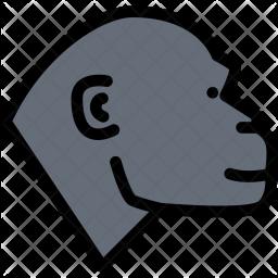 Monkey, Pet, Animal, Vet, Store, Zoo Icon