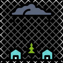 Monsoon アイコンの家