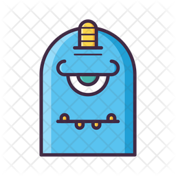 Monster Icon Of Colored Outline Style Available In Svg Png Eps Ai Icon Fonts