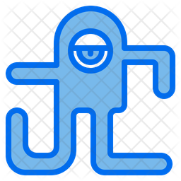 Monster Dualtone Icon
