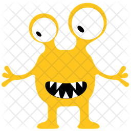 Monster Icon Of Flat Style Available In Svg Png Eps Ai Icon Fonts