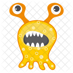 Monster Bacteria Icon