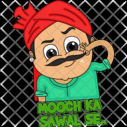 Mooch Ka Sawal Se Icon