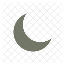 Moon Icon Of Flat Style Available In Svg Png Eps Ai Icon Fonts