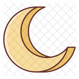 Moon Icon Of Colored Outline Style Available In Svg Png Eps Ai Icon Fonts