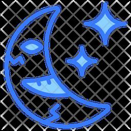 Moon Dualtone Icon