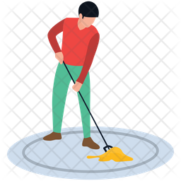 Mopping Services Icon