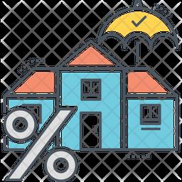 Mortgage Insurance Icon