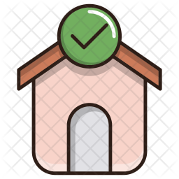Mortgage loan approved Icon
