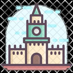 Moscow Kremlin Icon