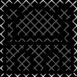 Mosque Line Icon