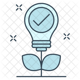 Motivation Colored Outline Icon