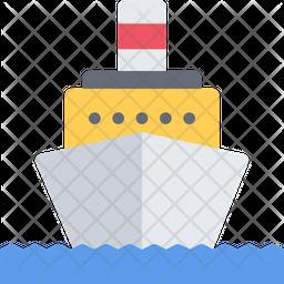 Motor Ship Icon
