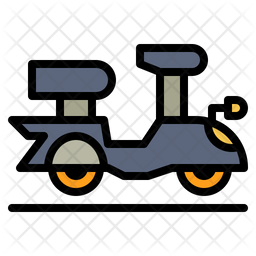 Motor Transportation Icon Of Colored Outline Style Available In Svg Png Eps Ai Icon Fonts