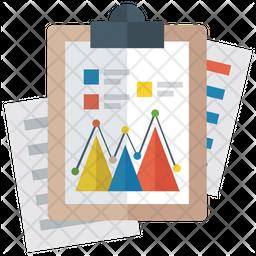 Mountain Chart Icon