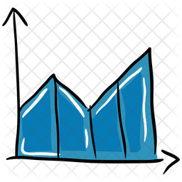 Mountain Chart Icon