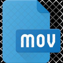 Mov Film Flat Icon