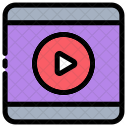 Movie Icon Of Colored Outline Style Available In Svg Png Eps Ai Icon Fonts