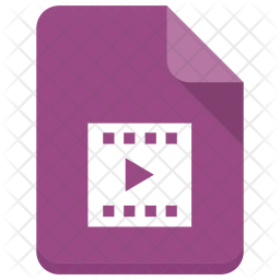 Movie File Icon Of Isometric Style Available In Svg Png Eps Ai Icon Fonts