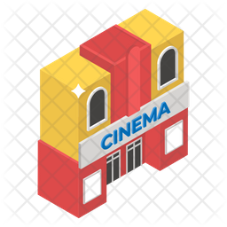 Movie Theater Flat Icon
