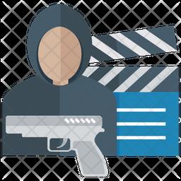 Movie Violence Icon