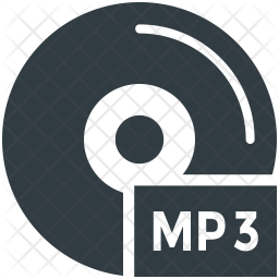 Mp3 Icon Of Glyph Style Available In Svg Png Eps Ai Icon Fonts