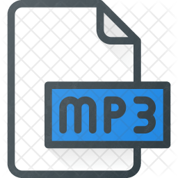 Mp3 Icon Of Colored Outline Style Available In Svg Png Eps Ai Icon Fonts