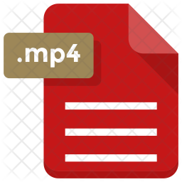Mp4 file Icon
