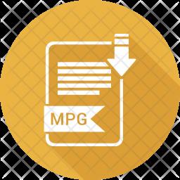 Mpg file Icon